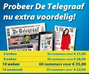 10 weken Telegraaf voor €35