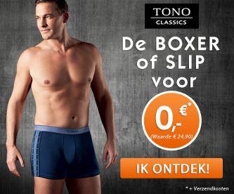 Gratis Tono boxershort