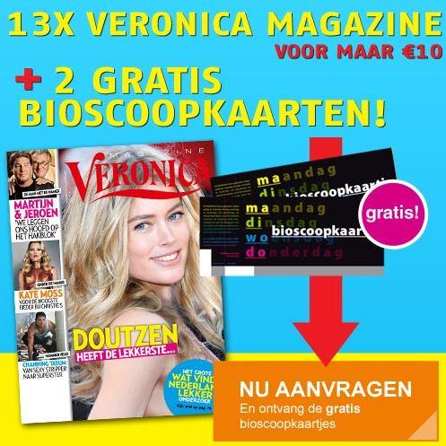 3 maanden Veronica Magazine voor €10
