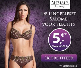 Miriale Luxury lingerie set voor €5