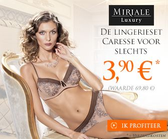 Miriale Luxury Caresse lingerie set voor €5