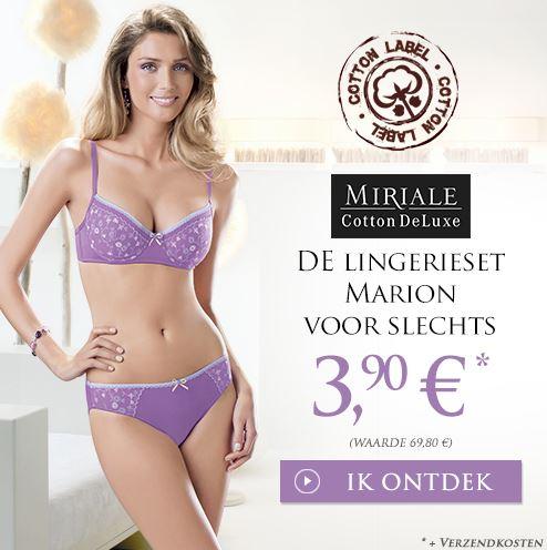 Miriale Luxury Marion Lingerie set voor maar €3,90