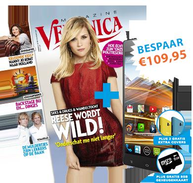 €109,95 korting op 1 jaar Veronica Magazine