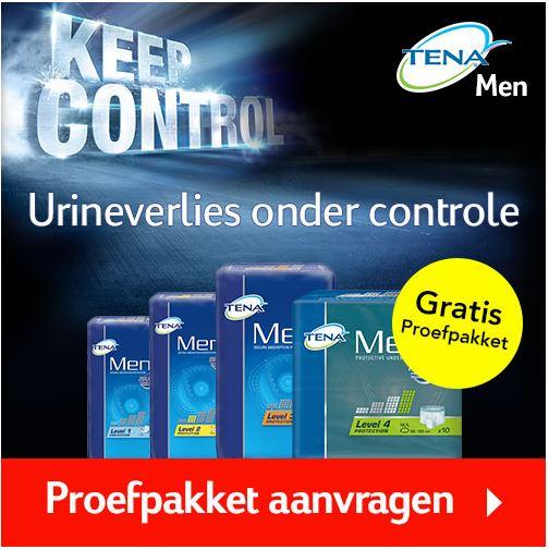 GRATIS TENA Men proefpakket