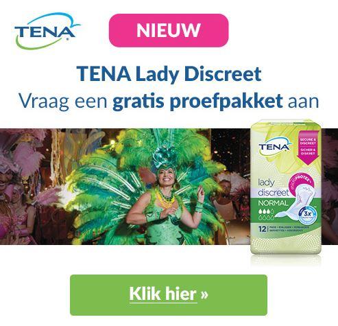 Probeer TENA nu gratis!